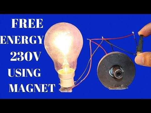 Awesome Magnets Free Energy Light Bulbs 100 Easy Free Energy Project Easy At Home New Youtube Free Energy Free Energy Projects Free Energy Generator