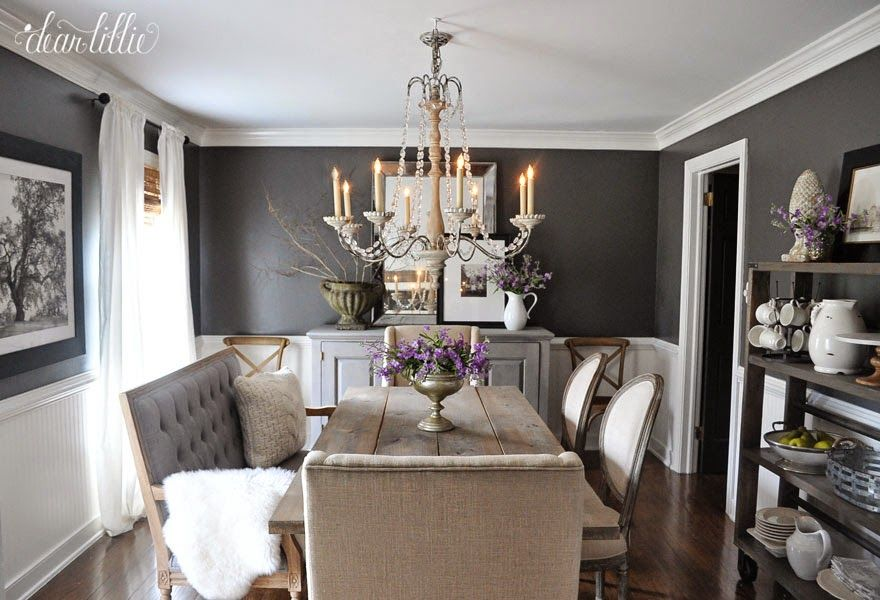 Kendall Charcoal in our Dining Room