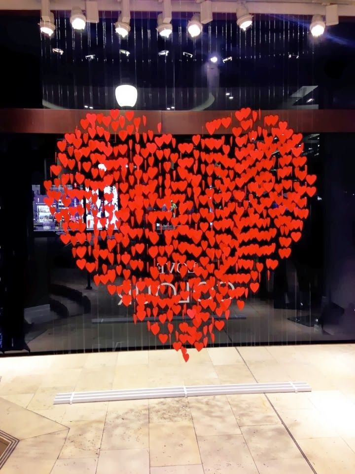 I love to go shopping, and part of the fun is checking out the store window displays, especially the holiday ones