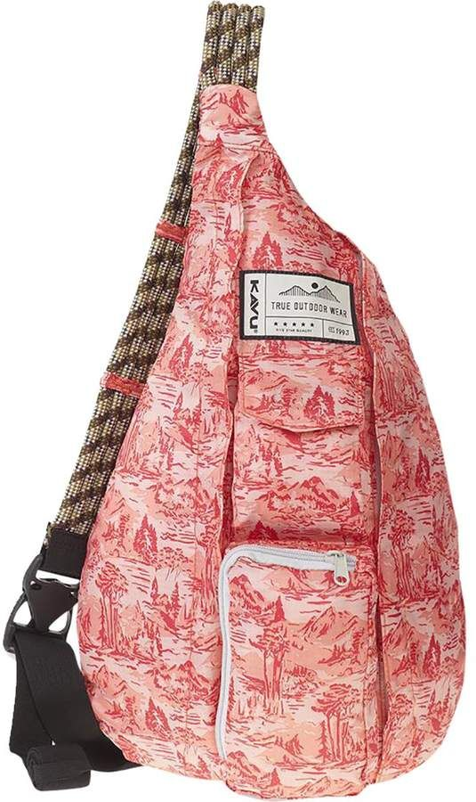 NEW Kavu Rope Sling Winterscape backpack limited edition sling bag