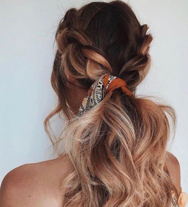 Nikoletalj Www Nikoletalj Com Nikoletalj Streetstyle Blogger Fashion Casualstyle Summer Sty Hair Styles Braids For Long Hair Scarf Hairstyles
