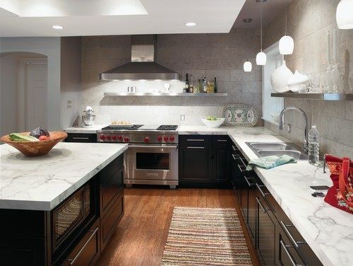 Laminate Countertop Colors Choices For Elegant Kitchen Marble