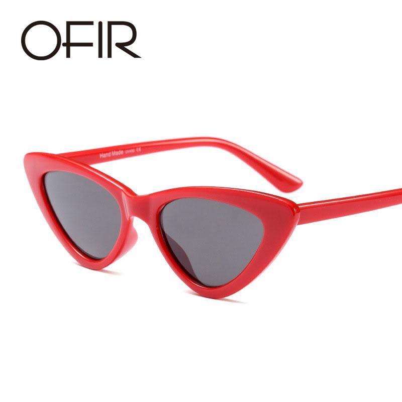 d6c8f778fe32 FuzWeb:OFIR cute sexy retro cat eye sunglasses women small black white 2018 triangle  vintage cheap sun glasses red female uv400 #sunglasses #women ...