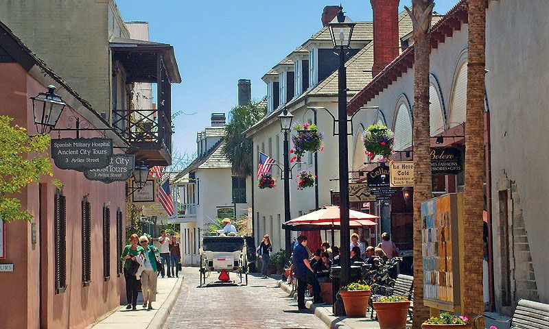St Augustine Vacation Guide College Town Places To Visit Vacation Guide