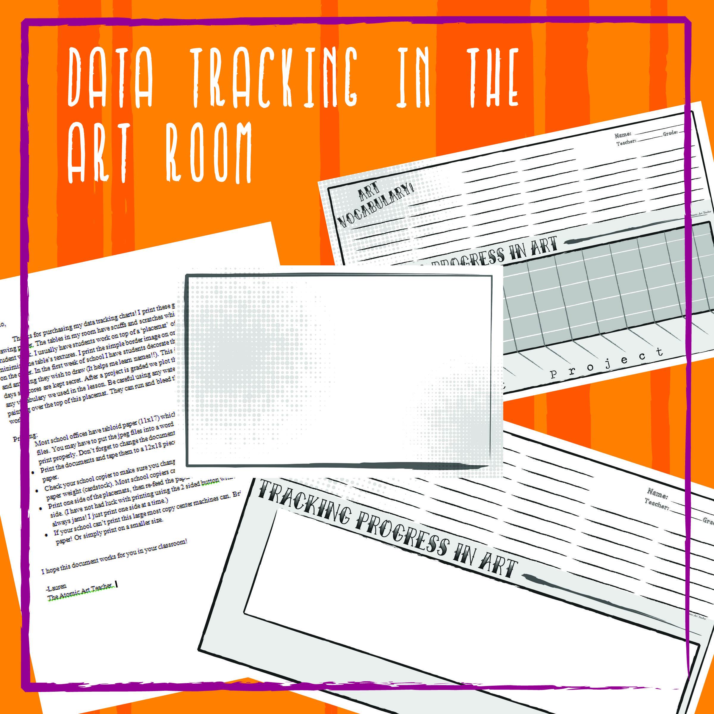 Student Data Tracking For The Visual Arts Classroom