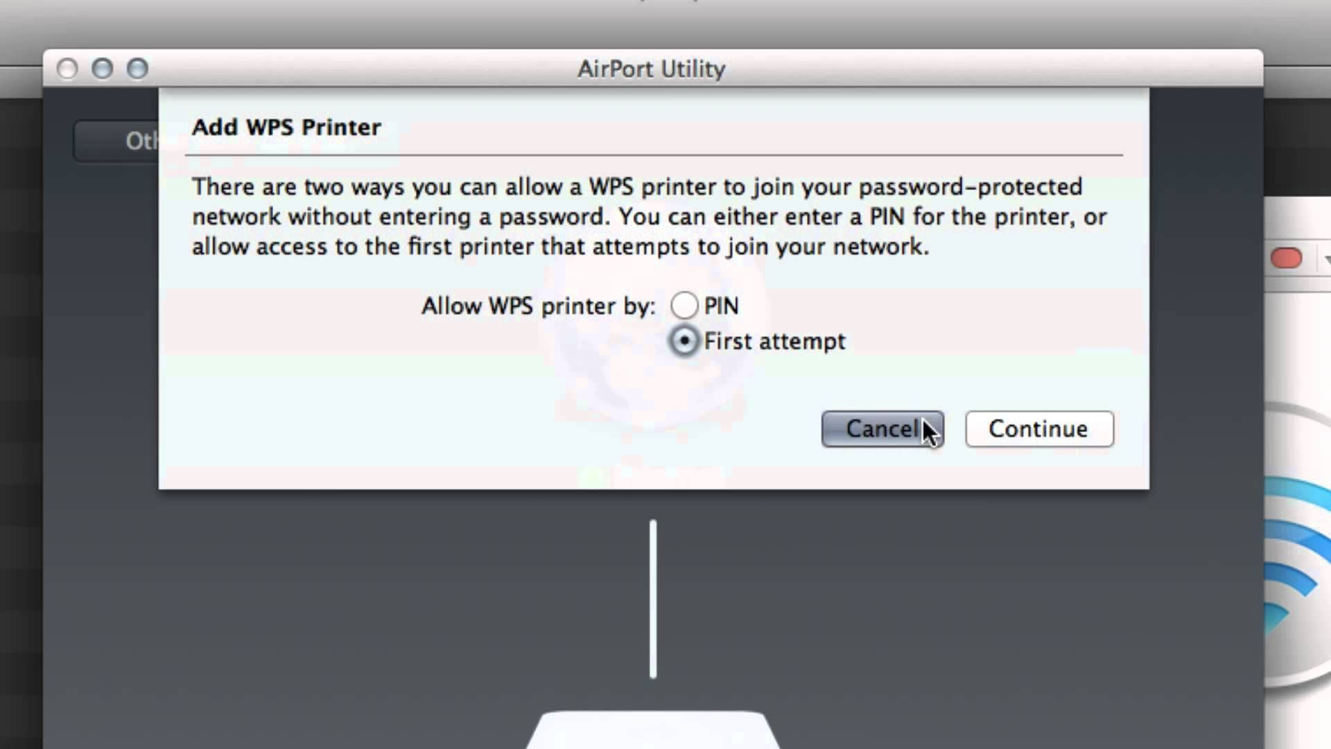 Easily Connect a WPS Printer to Apple Airport Extreme