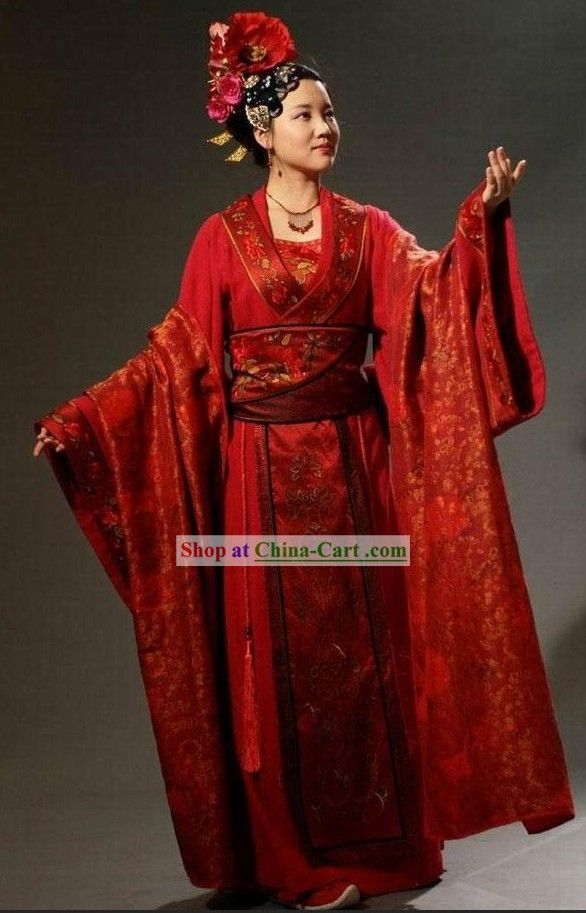 Ancient Chinese Wedding Dress For Brides Chinese Wedding Dress Chinese Wedding Traditional Outfits