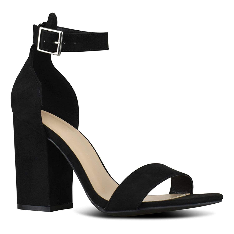 72f8c1e7177 Premier Standard Women's Comfort High Heel Sandal - Open Toe Ankle ...
