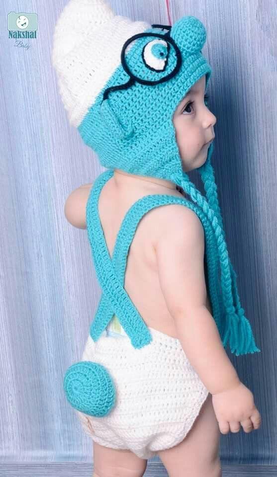 Cute Baby Smurf hat 8923c83eb26
