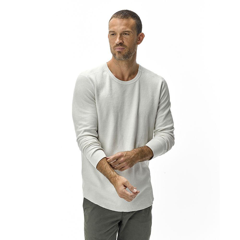 Natural Vintage Surplus Thermal Tee Buck Mason Xl Long Sleeve Tshirt Men Tees American Tees [ 1000 x 1000 Pixel ]