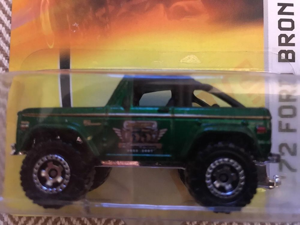 Matchbox 1972 Green 4x4 Ford Bronco Ready For Action 58 Mbx Metal