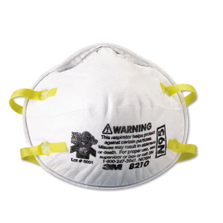 Lightweight Particulate Respirator 8210, N95, 20/box