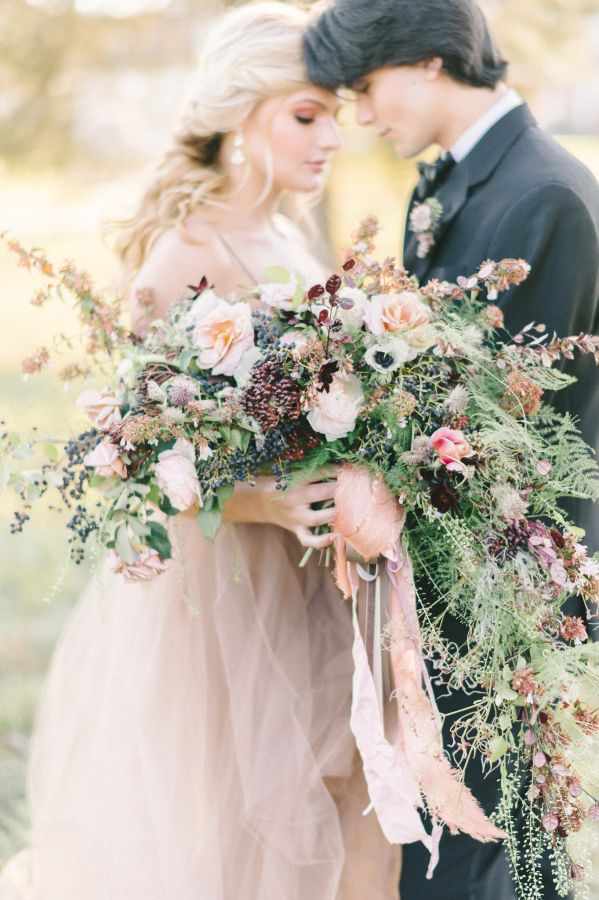 Romantic Ethereal Wedding Shoot Inspired By One Gorgeous Gown In