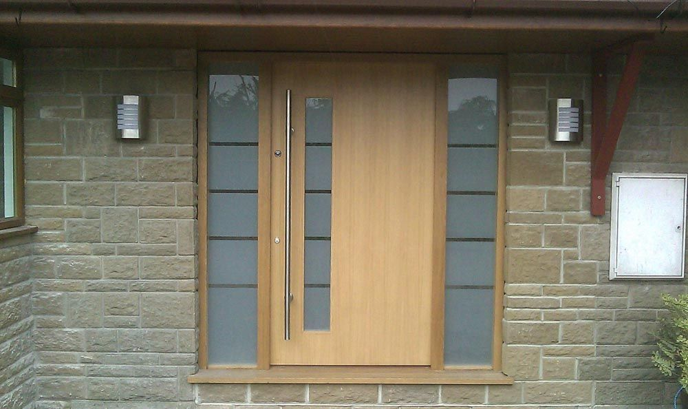 Oak Front Door | 1000 x 594 · 106 kB · jpeg | drzwi | Pinterest ...