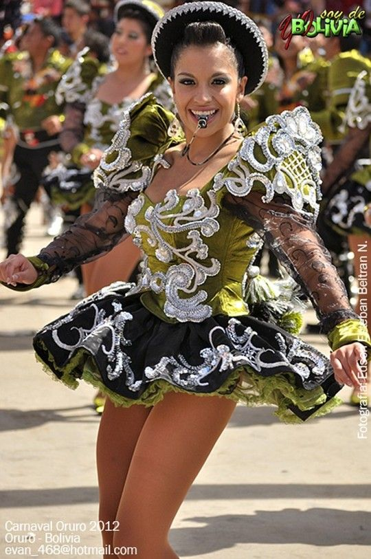 La Paz Caporales Samba Traje De Baile 25b62ed1dbf5