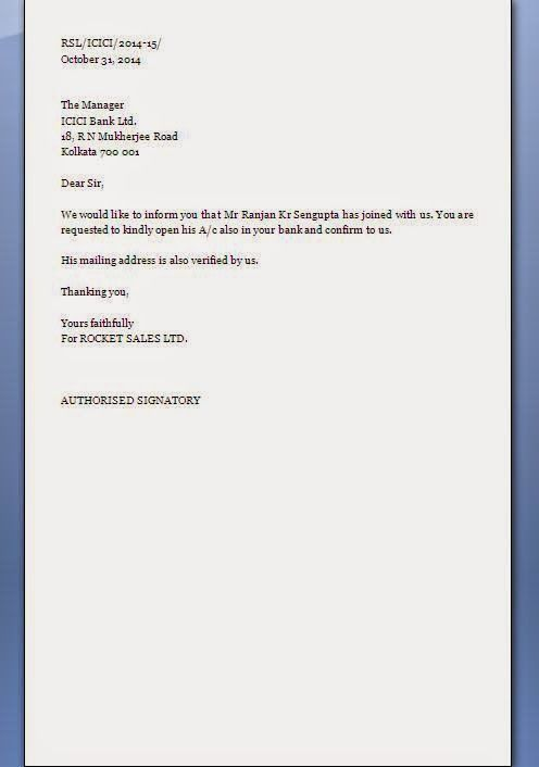 bank account verification letter sample newhairstylesformen for - previous employment verification letter