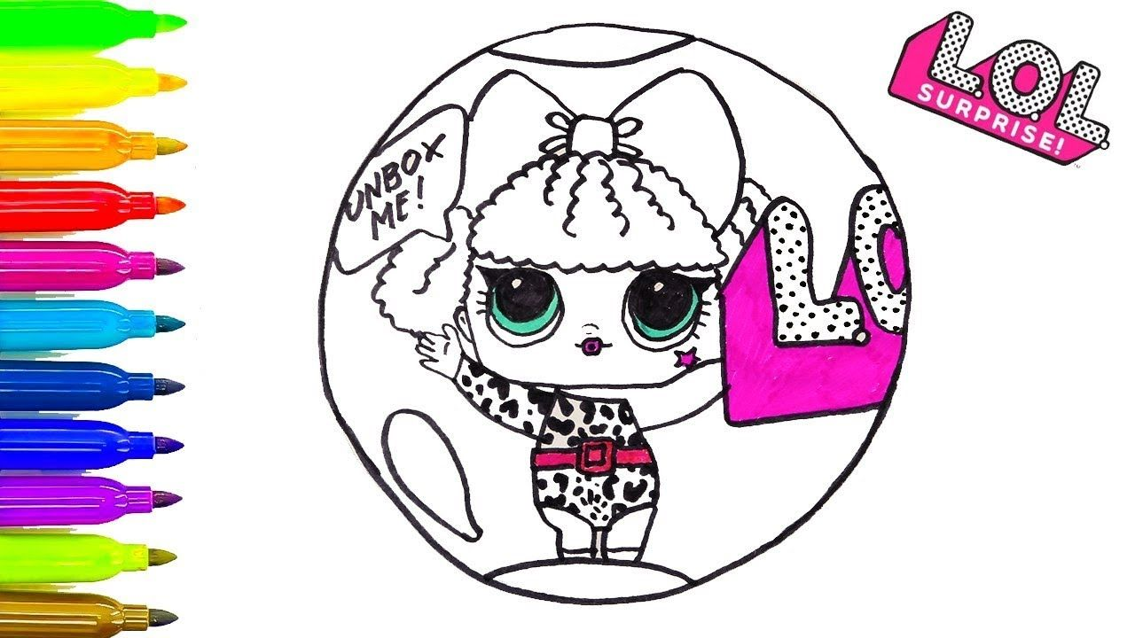 How To Draw L.O.L. Surprise Doll LOL Surprise /Coloring ...