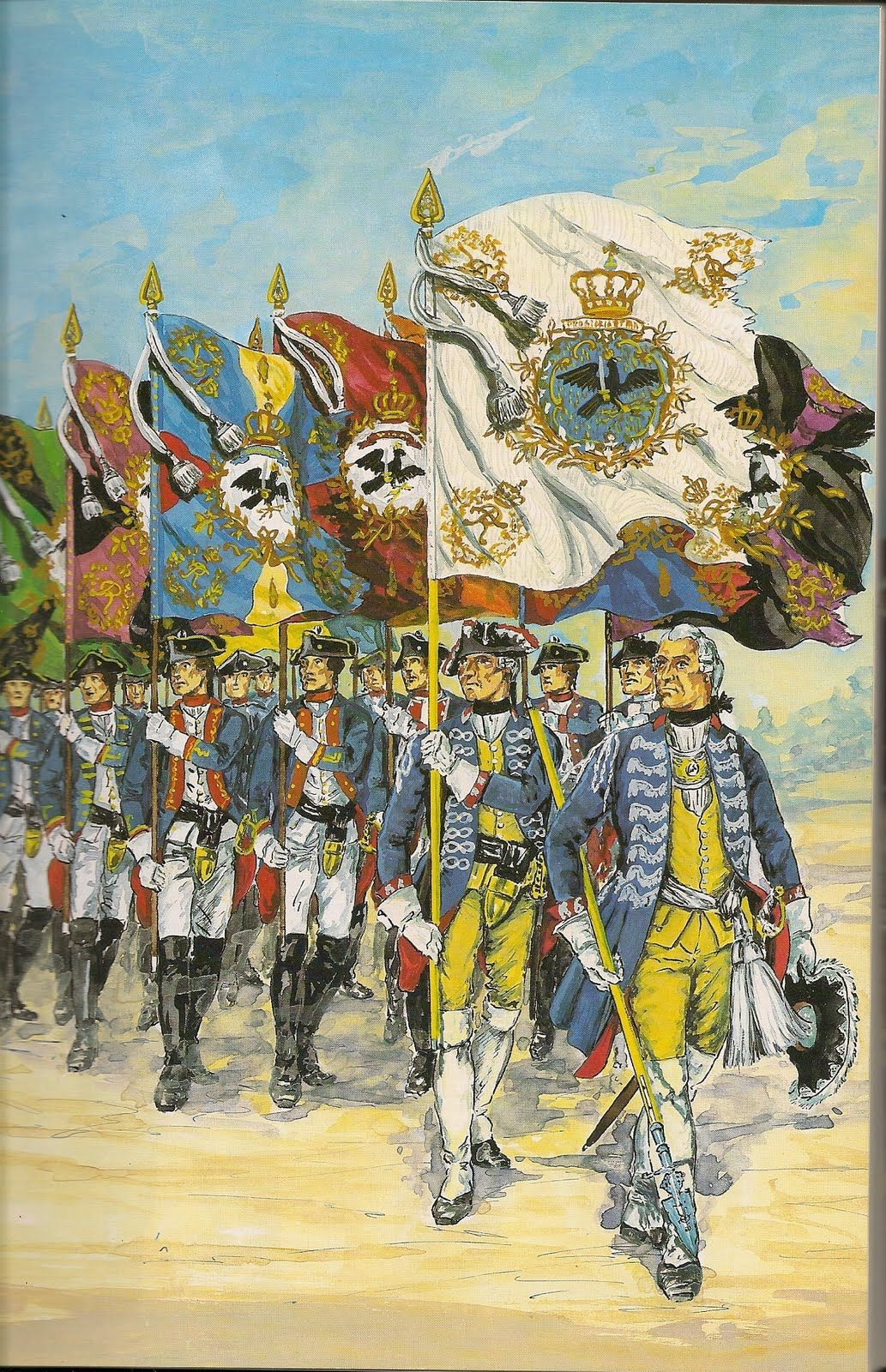 SYW- Prussia: Prussian Colors 1756-1763, by Gunter Dorn.