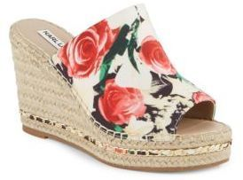 e7df4ae07b Karl Lagerfeld Paris Carina Leather Espadrille Wedges | Products ...