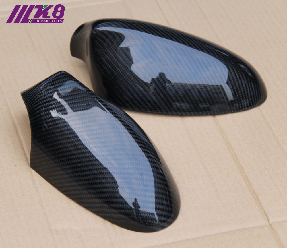 90.00$  Watch here - http://alift3.worldwells.pw/go.php?t=32687573069 - Carbon Fiber  Mirror Cover For  BMW E87-E82 90.00$