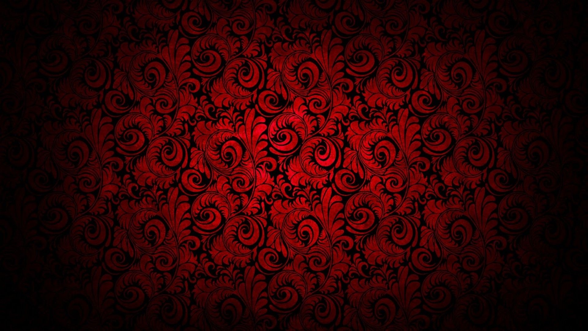Flower Background Hd Red And Black Wallpapers