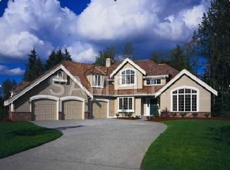 Big House With Three Car Garage My Goals Pinterest