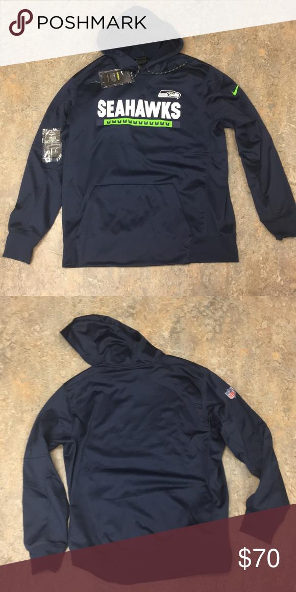 best supplier really comfortable new style Seattle Seahawks Nike Men's Hoodie Sweatshirt XL Brand new ...