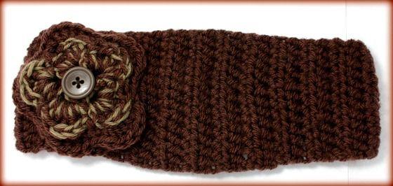 Handmade Crochet Headband with Flower(FREE SHIPPING) $20.00