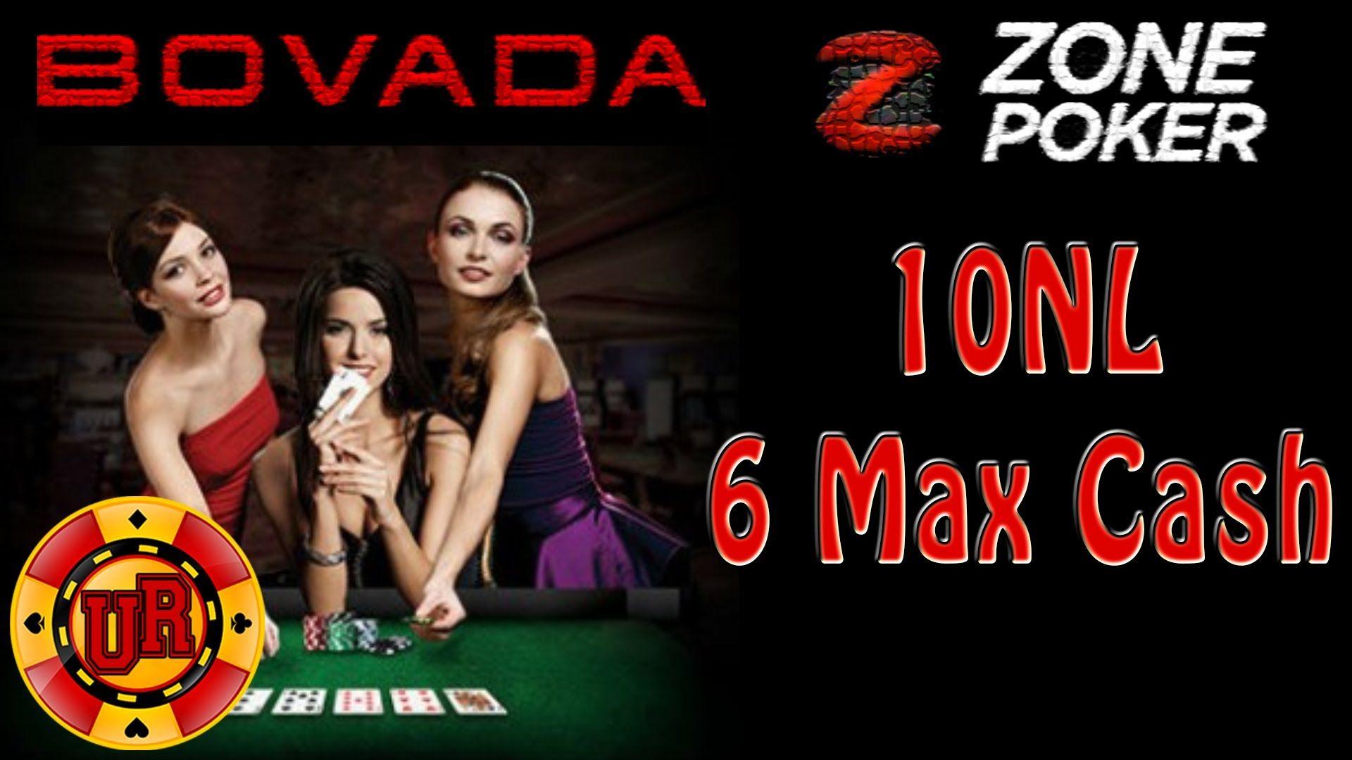 10NL Bovada Poker Zone Poker EP 1 Texas Holdem Poker