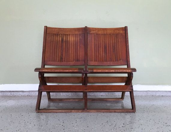 Miraculous Antique Wooden Folding Chairs Double Seated Folding Chairs Ncnpc Chair Design For Home Ncnpcorg