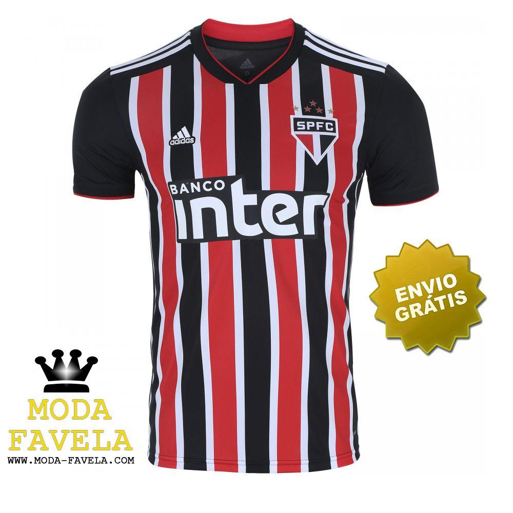 febd275dca9424 Camisa São Paulo Futebol Clube 2018 camisola de 2019 | Loja Moda ...