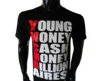 YMCMB Young Money Cash Money Billionaires Mens T-Shirt