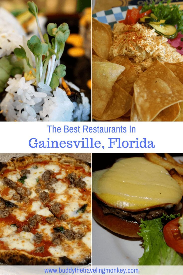 Best Restaurants In Gainesville Florida Travel Usa Pinterest And