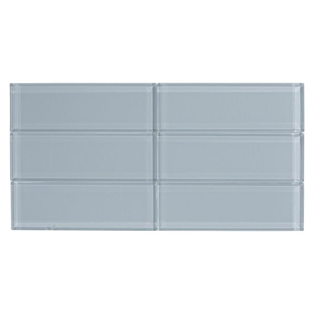 Pure Twilight Glass Tile - 3in. x 9in. - 100235084 | Floor and Decor ...