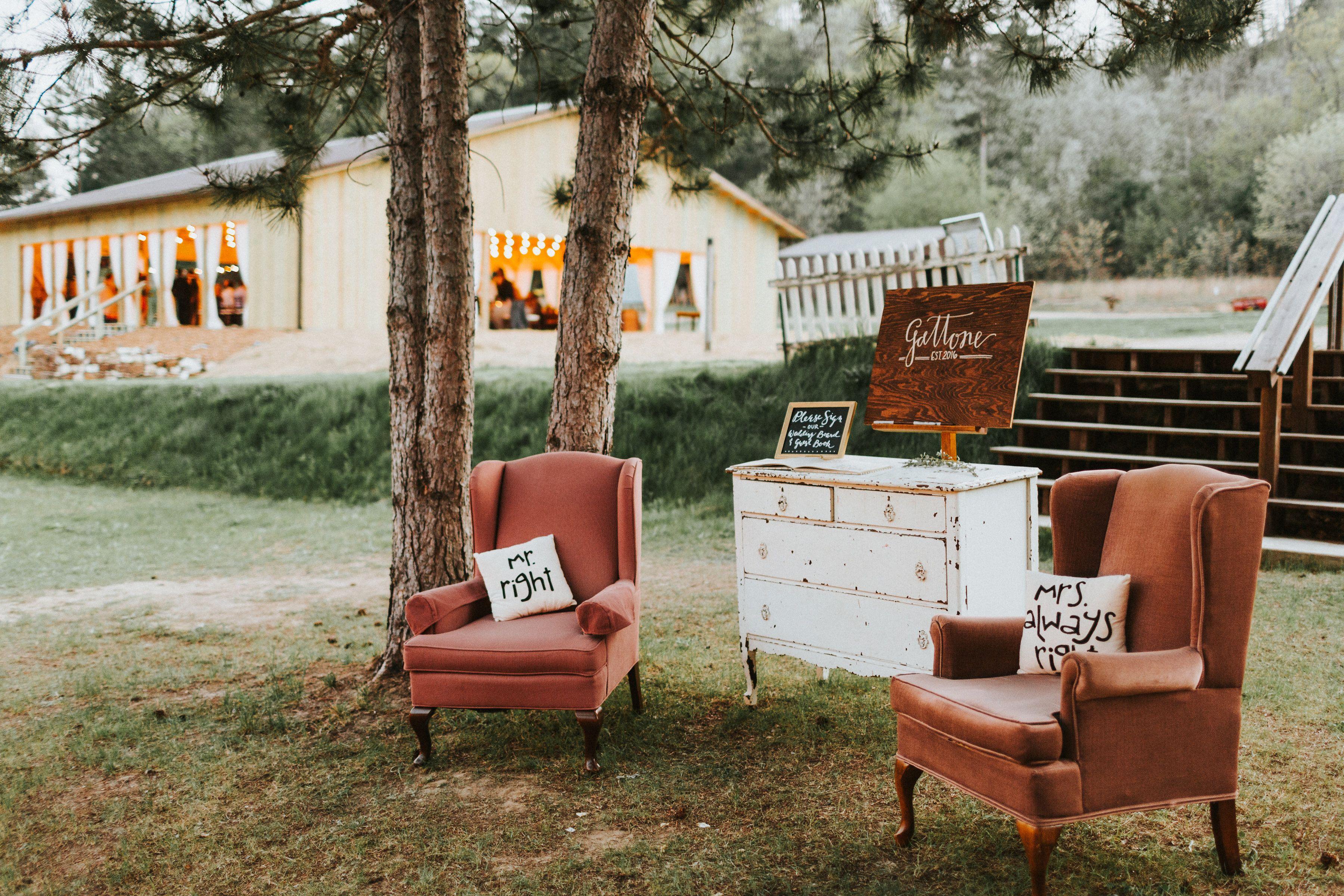 Wisconsin Wedding Venue wedding in the woods outdoor ...