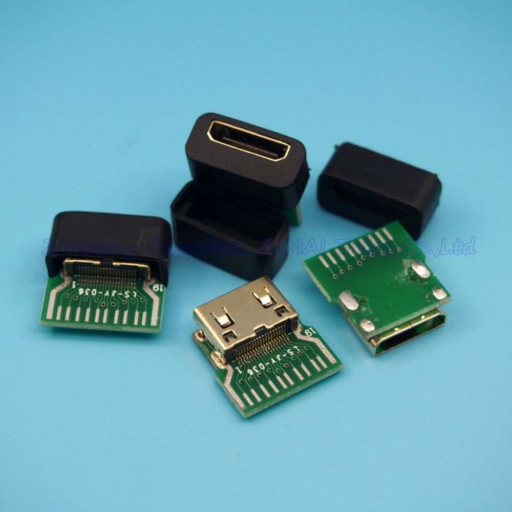 Click To Buy Hdmi C Type Female Connector Mini Hdmi Female Socket With Pcb Board With Shell Affiliate Hdmi Pcb Board Accessories