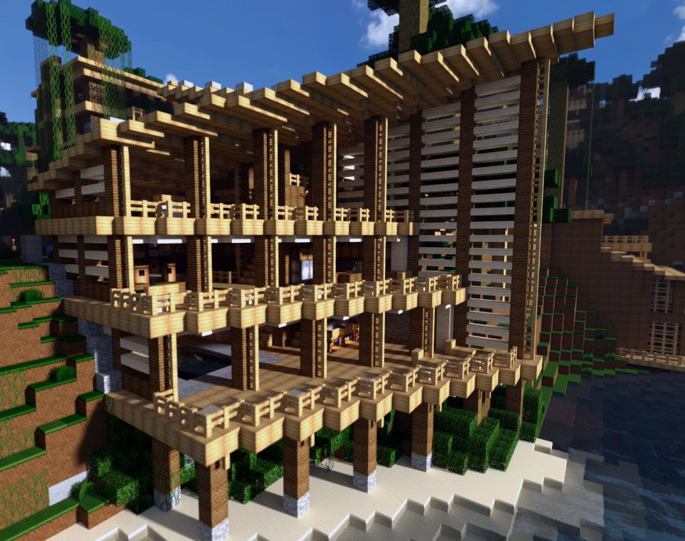 Architecture Houses Minecraft jungle house on world of keralis minecraft project | man cave