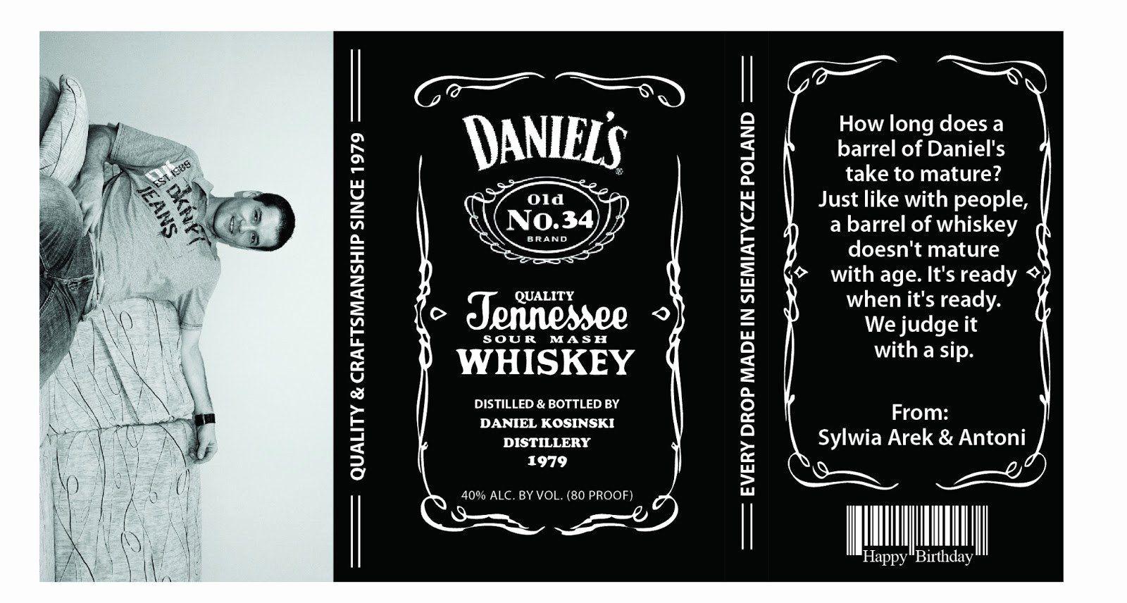 Image Result For Jack Daniels Label Template