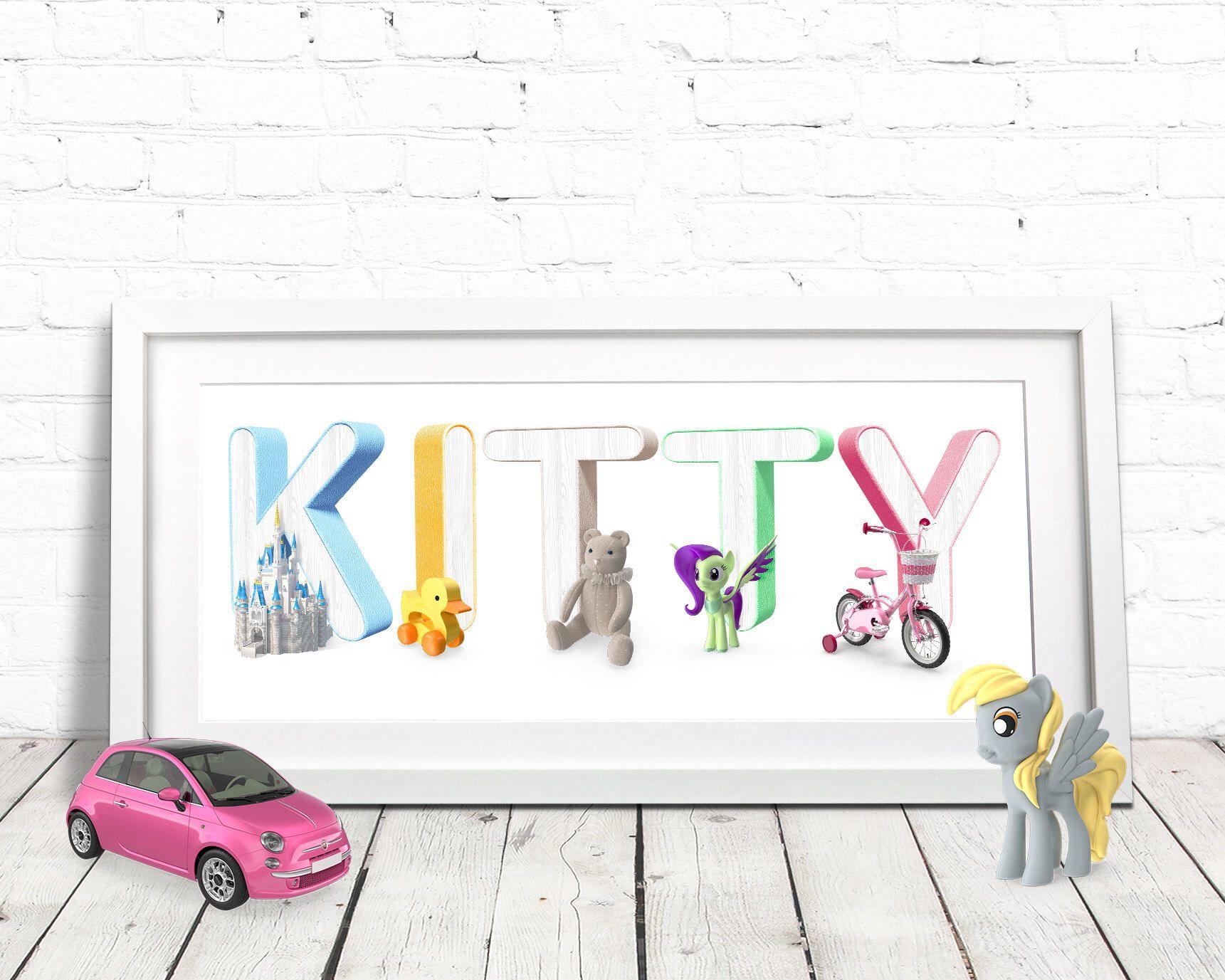 Disney Princess / Princess Name / Name Art / Disney Art / Nursery ...