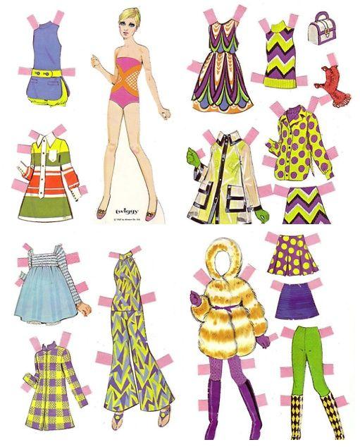 paper dolls from the 60s - Bing Afbeeldingen