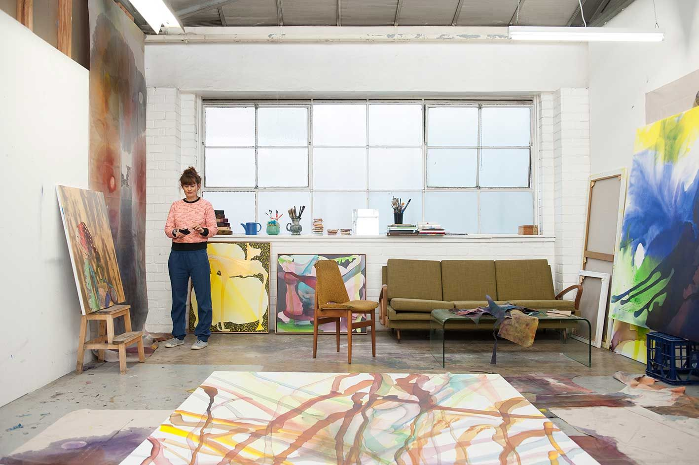 Artist Studio - Lara Merrett   Yellowtrace