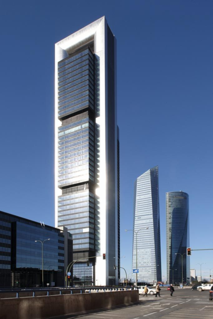 Torre caja madrid proyectos foster partners - Caja arquitectos madrid ...