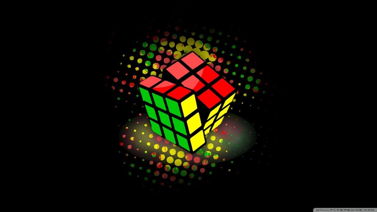 Rubiks Cube Hd Desktop Wallpaper High Definition In 2019