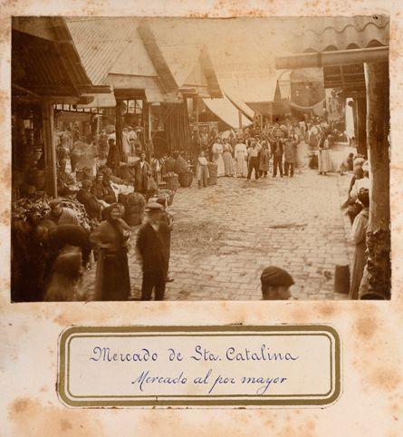 Bereshit: la reconstrucció de Barcelona i altres mons: L'origen dels mercats medievals a Barcelona