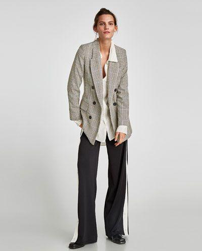 Hose Mit Seitlichem Streifen Neuware Damen Zara Deutschland Hosen Zara Damen Gestreifte Hose