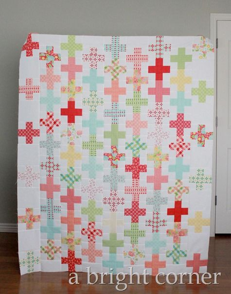 Flirty quilt pattern by April Rosenthal | A BRIGHT CORNER QUILTS ... : quilts corner - Adamdwight.com