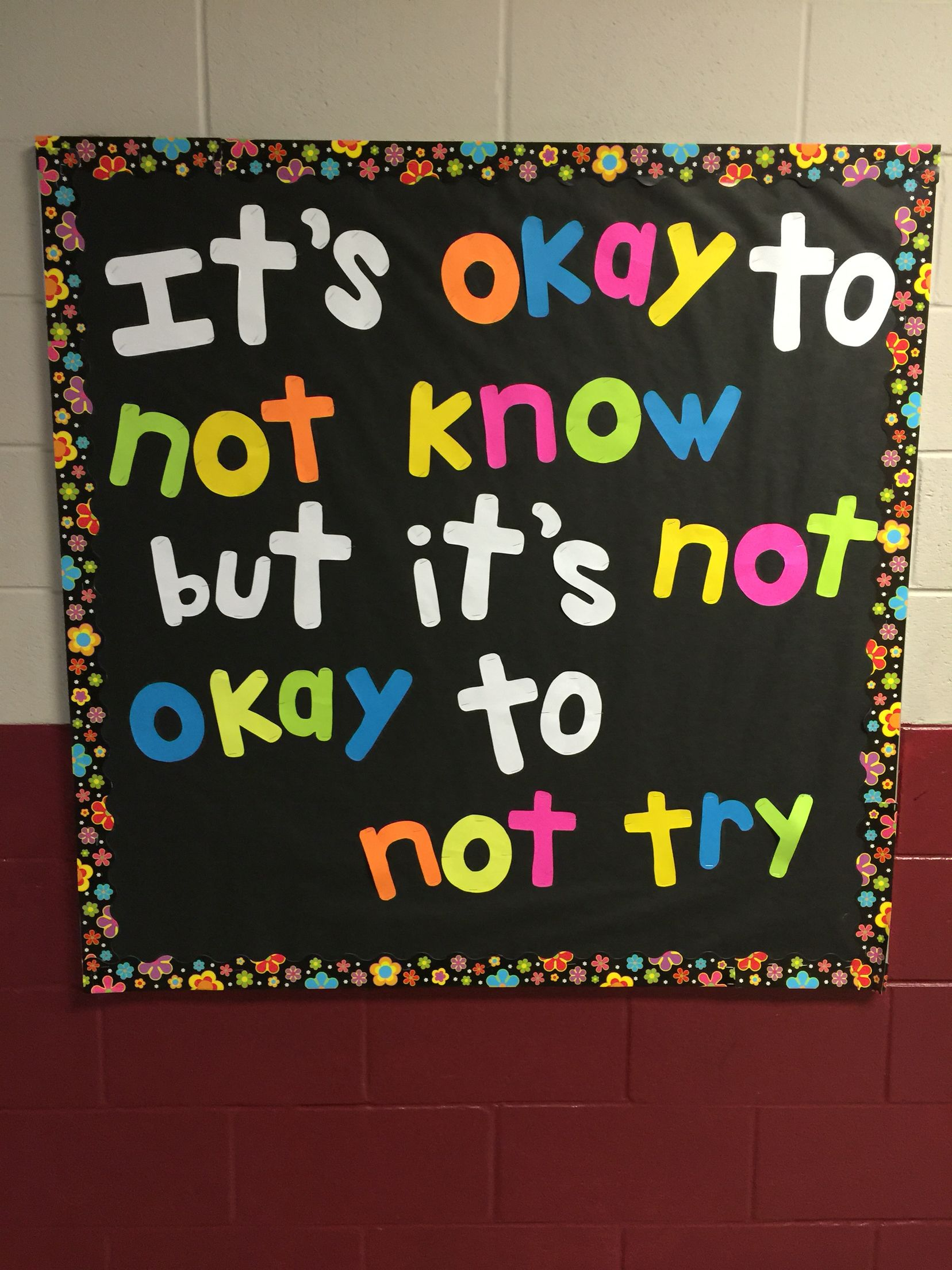 Motivational Bulletin Board Motivational bulletin boards