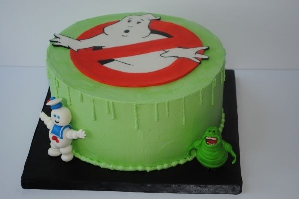 Awesome Who Ya Gonna Call With Images Ghostbusters Cake Cake Funny Birthday Cards Online Alyptdamsfinfo