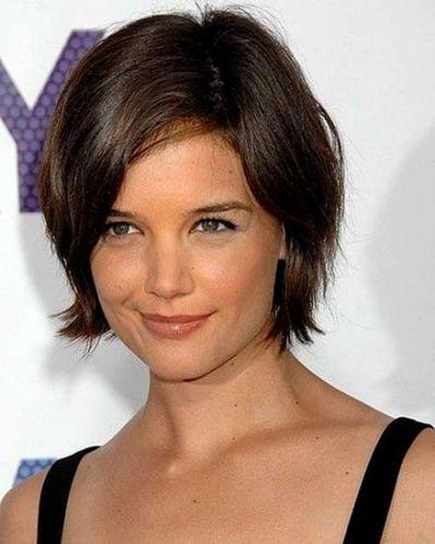 20 Katie Holmes Short Bob Hairstyles Kurzhaarfrisuren Frisuren Haarschnitte Kurzhaarschnitte