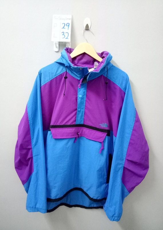 318b4bbe0 Rare Vintage 80s-90s The North Face Half Zip by SixSiblingGarment ...